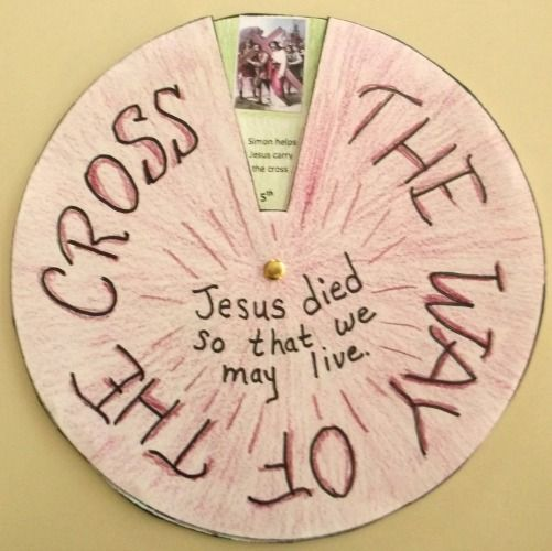 "The Lenten season begins on Ash Wednesday, which is only about ten days from today. I've been thinking about this Stations of the Cross project for some time and wanted to get it published here in time for the kids to make their own ""Way of the Cross"" ..."