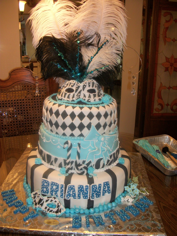 58 Best Images About Mardi Gras Cakes On Pinterest