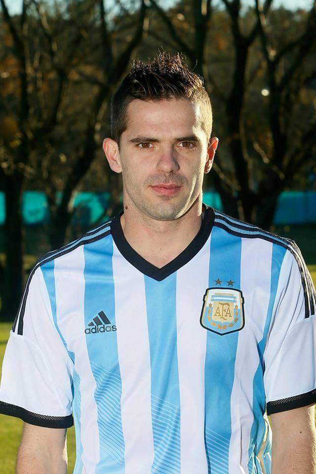 Jugadores de la selección Argentina Mundial Brasil 2014 - Fernando Gago
