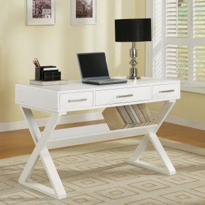 White & Writing Desks on Hayneedle - White & Writing Desks For Sale
