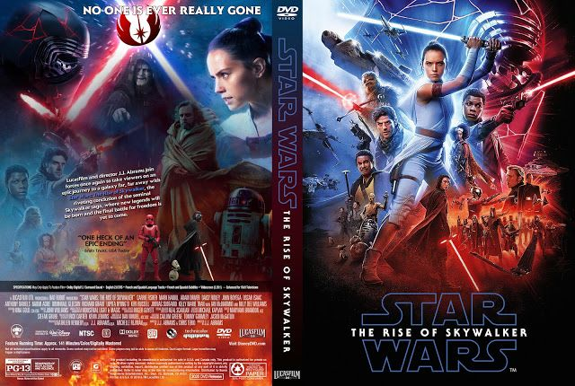 Star Wars Episode Ix The Rise Of Skywalker Dvd Cover In 2020 Dvd Covers Skywalker Star Wars Episodes