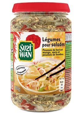 Suzi Wan Mélange pour salade Maïs