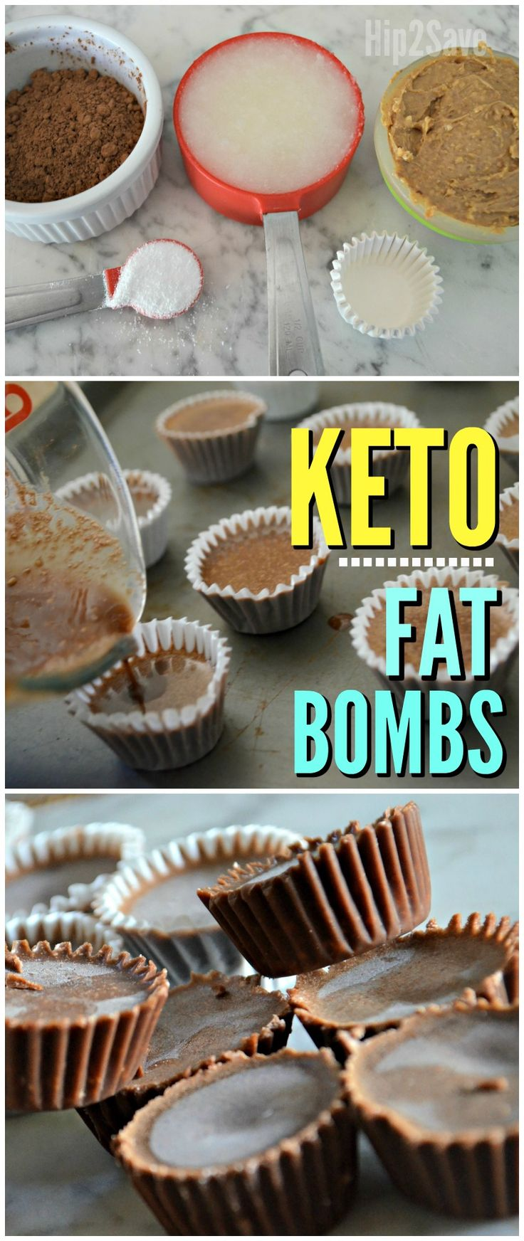 Eating low carb or Keto and craving chocolate? Take the edge off with these 4 ingredient Chocolate KETO FAT BOMBS!
