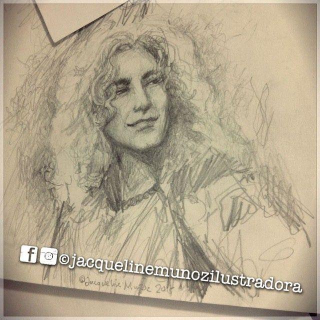 Robert Plant y yo tenemos un tórrido romance musical estos días. Por eso apareció en mis madrugadas dibujísticas :) <3 @robertplantofficial #RobertPlant #plant #LedZeppelin #portrait #sketch #rock #classicrock #sexy #thebest #lovethisguy #zoso #chikawonka