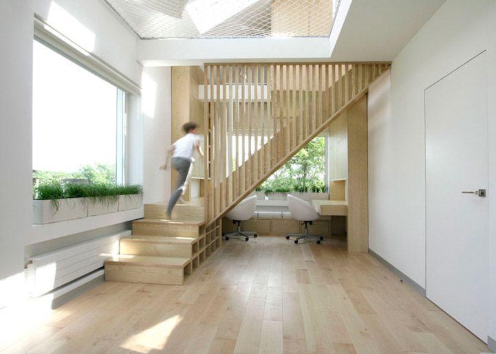 Garde corps escalier etage
