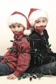 Lustige Weihnachtskarten Idee :)