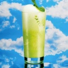 Ricetta Cocktail #GreenJewell #GINGERBEER #LIMONATA #LIMONE #MIDORI #SUCCODILIMONE #ZUCCHERODICANNA