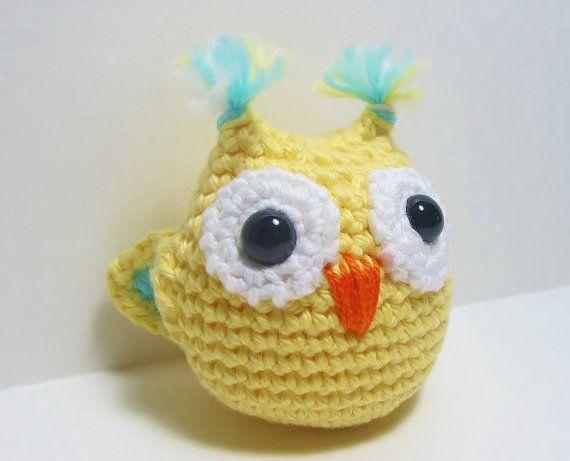 Amigurumi Owl, Crochet Owl