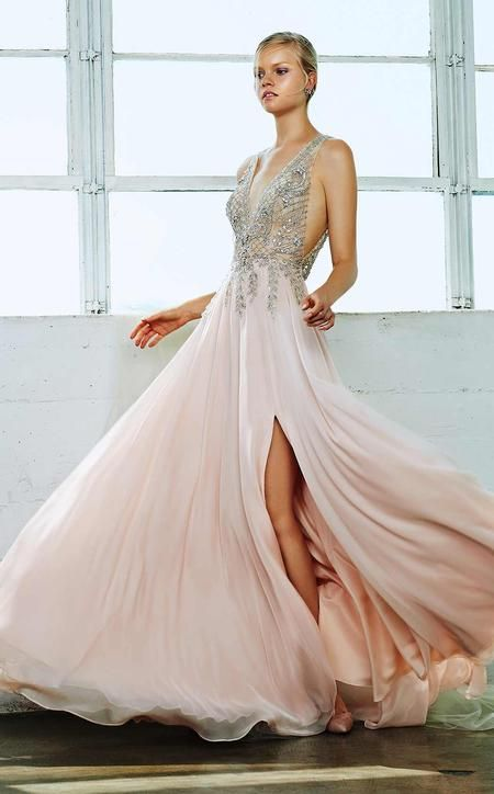 8f97bf91c78f Andrea and Leo A0481 Blush | Wedding/MOB in 2019 | Evening dresses ...