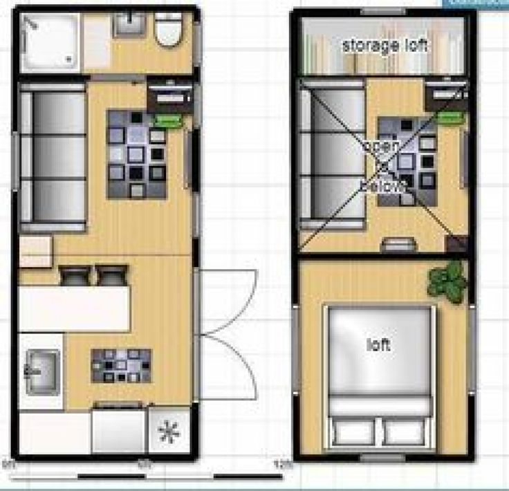 tiny house on wheels floor plan with single loft nice floor plan except no stairs to loft only one loft