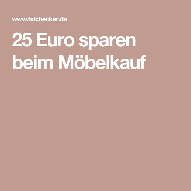 25 Euro sparen beim Möbelkauf