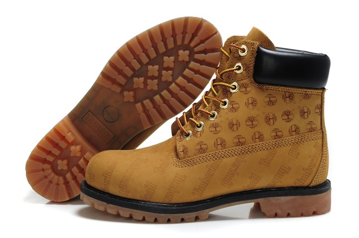 Mens Timberland Custom Boots Chestnut Timberland Boots