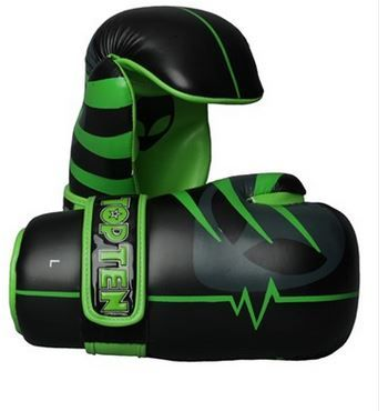 Alien design TopTen WAKO approved point fighter gloves. Check out our WAKO products for matching Kicks