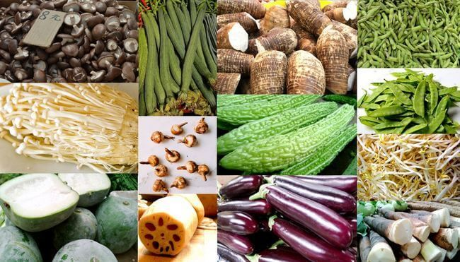 Our Asian vegetables category describes beans, melons, mushrooms and root vegetables, how they are used and some favorite Chinese recipes that use them