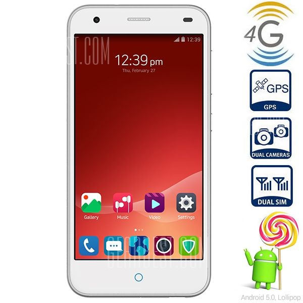 ZTE Blade S6 Discount Coupon free shipping from the European warehouse, from Gearbest - Mobiles-Coupons