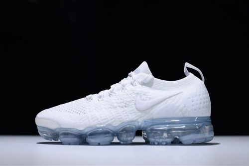 5b18f0384b64f Authentic Nike Vapormax 2.0 Triple White Running Shoes 942842-100 -  Nawomenshoes