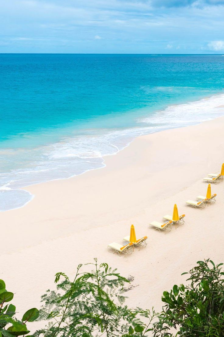 Mead's Bay Beach, Anguilla near Malliouhana #Caribbean #travel #beach #Anguilla #luxury