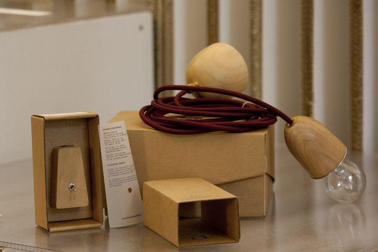 Suspended lamp by Laboratorio Graffe.