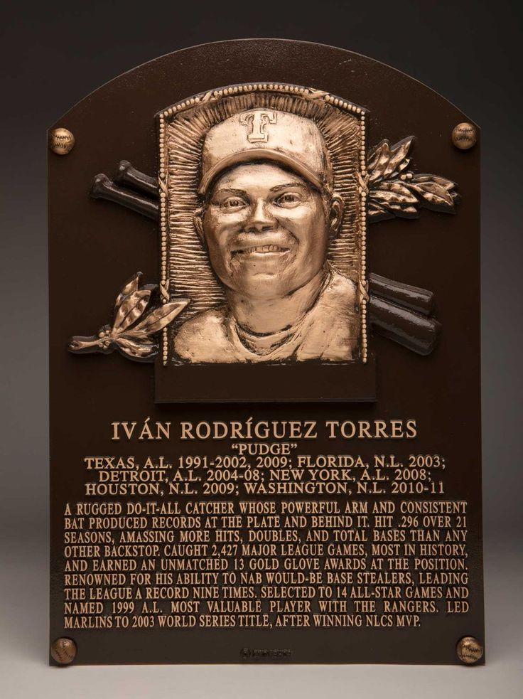 Welcome to Cooperstown, Pudge. (@Rangers)   Twitter