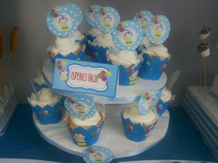 Cupcakes balon