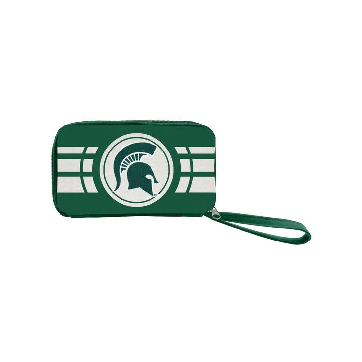 NCAA Michigan State Spartans Ripple Zip Wallet, Adult Unisex