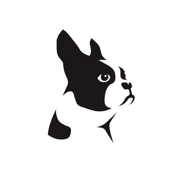 boston terrier graphic - Google Search