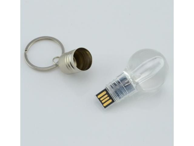 Unique USB Flash Drive - Blue Light LED Bulb Key Ring 8 | Free Ads Posting