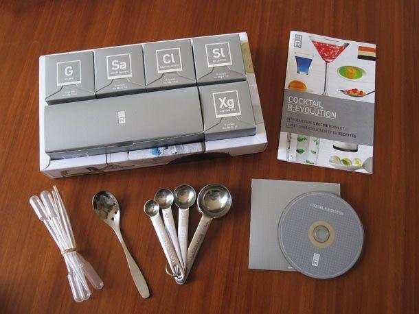Molecular Gastronomy Mixology Kit