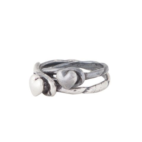"""Ring """"Capture"""" with Heart"""