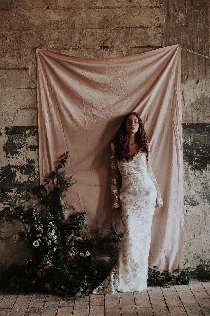 The Debussy gown / Nora Sarman Bridal / photo Pinewood Weddings