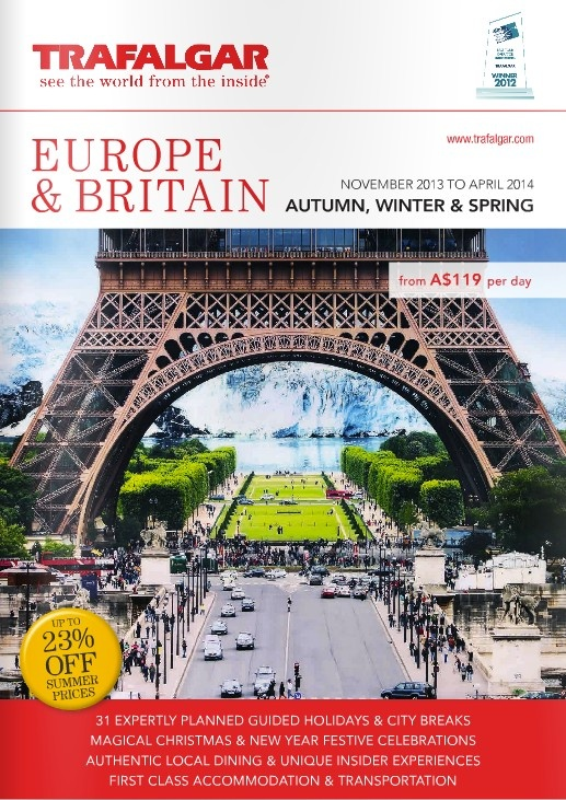 Trafalgar - Europe & Britain 2014 Brochure