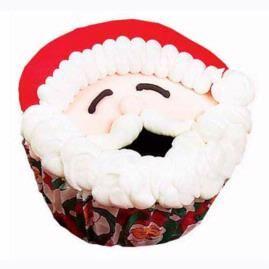 Smiles From Santa Cupcakes