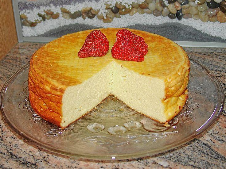 einfacher quarkkuchen ohne boden backen k sekuchen cheesecake pinterest butter. Black Bedroom Furniture Sets. Home Design Ideas