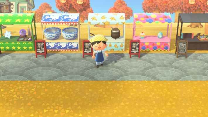 Acnh Stall Ideas Designs Street Market Guide Animal Crossing New Horizons Gamewith In 2020 Animal Crossing Animal Crossing Guide Animal Crossing Qr