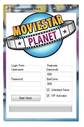 The MovieStarPlanet Hack – Unlimited Diamonds & VIP Cheats Engine is ready for download. Use MovieStarPlanet Hack – Unlimited Diamonds & VIP Cheats Engine working tool.