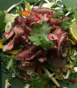thai beef salad - real meal revolution