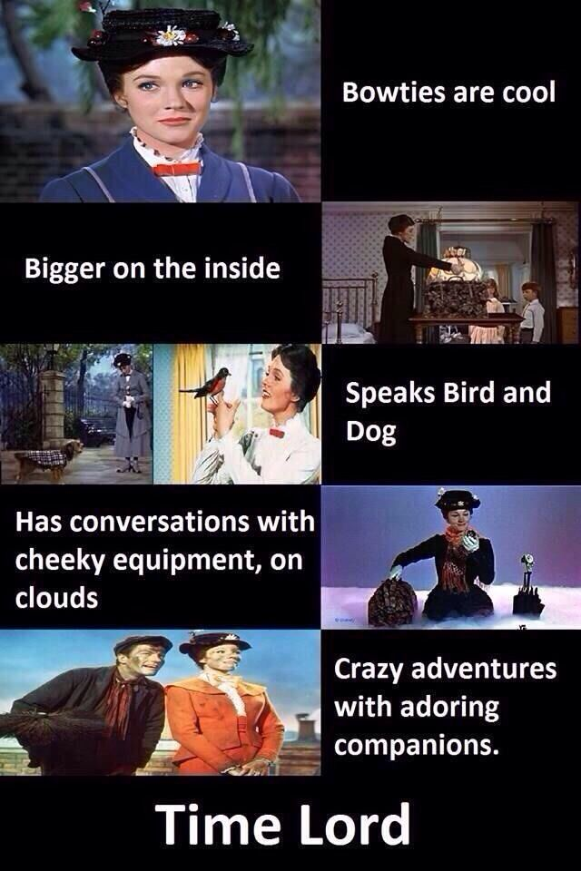 Proof Mary Poppins is a Time Lord?