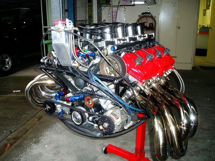 Exitante! Very midget dirt car engine hot