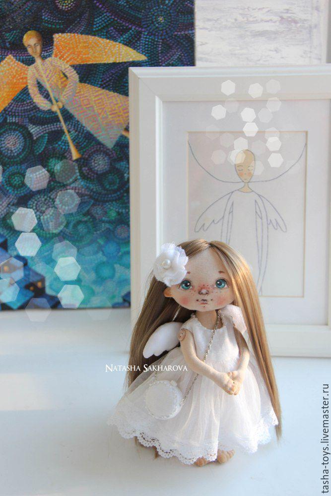 Купить Маленький Ангел. - белый, нежность, ангел, ангелочек, подарок, подарок на день рождения