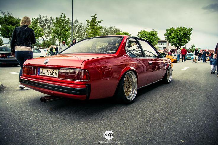 #BMW_E24 635 #Modified #Slammed #Stance