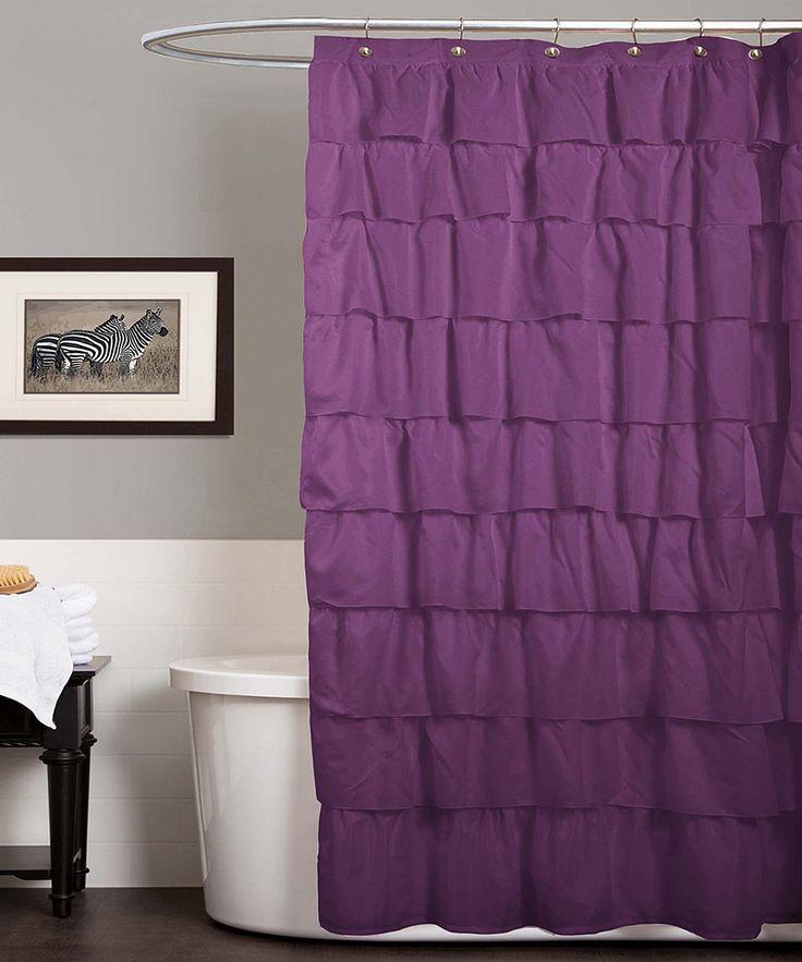 Purple Lucia Shower Curtain Curtain Menzilperde Net