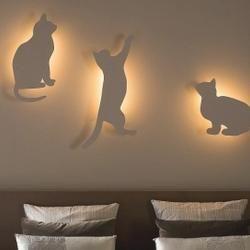 Kinkiety dla wielbicieli kotów