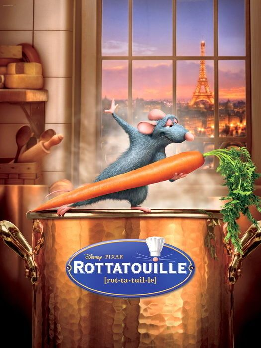 Ratatouille 2007 Movie Cartoon Network Wall Print POSTER #PopArt