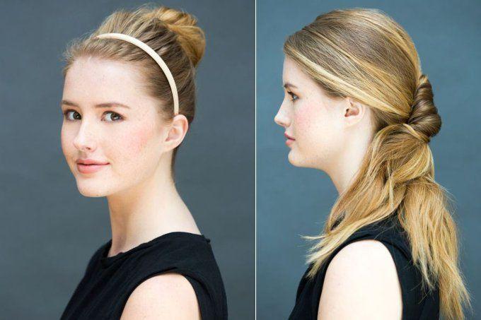 Conheça penteados rápidos e fáceis de fazer em 10 segundos