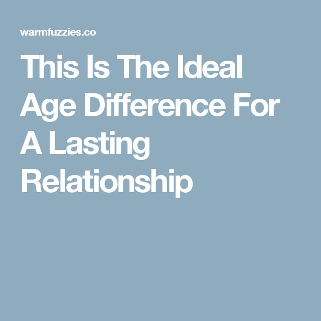 an ideal family relationship The age gap between two people in a relationship has been discovered to dramatically this is the ideal age gap for any relationship while she talks to family.