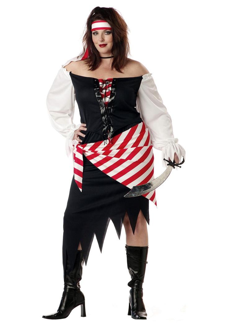 Plus Size Ruby Pirate Costume - Womenu0027s Plus Size Pirate Costumes  sc 1 st  Pinterest & 69 best Plus Size Women Costumes images on Pinterest | Woman ...
