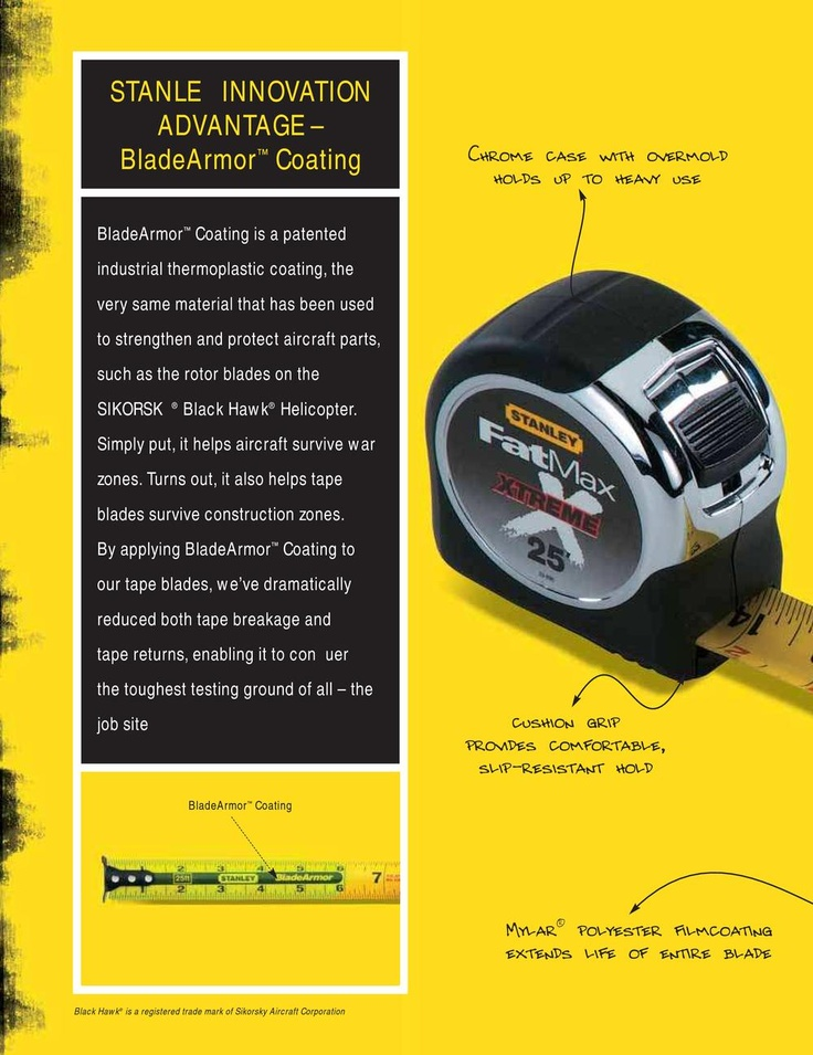Stanley hand tools industrial catalog stanley proto for Brochure design tools