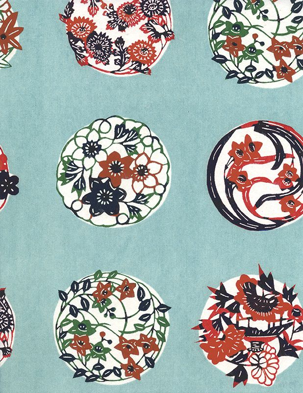Great use of complimentary colors to create a simple yet visually satisfying pattern.