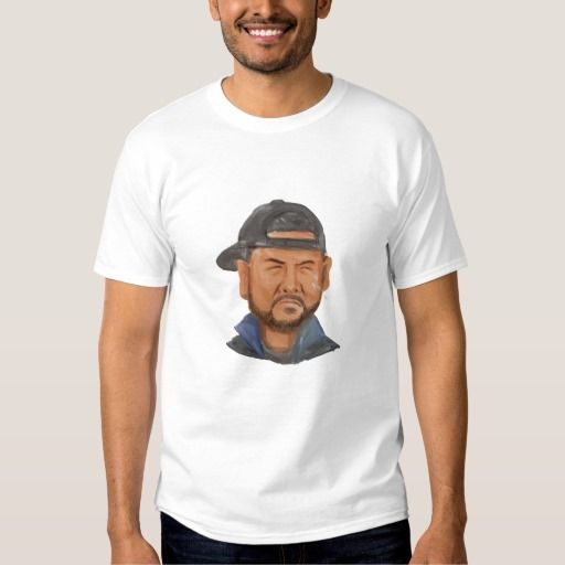 African-American Man Beard Hat Crying Watercolor Shirt. Watercolor style illustration of an african-american man with beard wearing hat crying viewed from the front set on isolated white background. #Watercolorstyle #African-AmericanManBeardHat