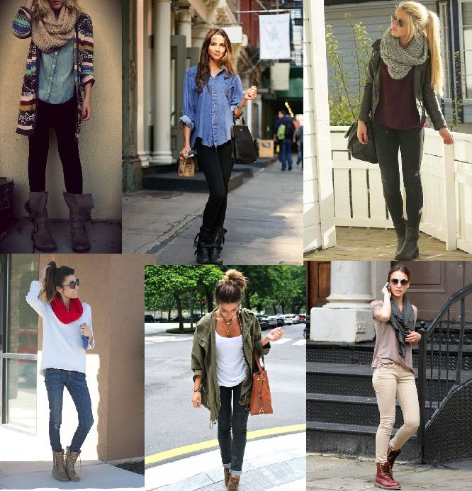 Awesome 20 Style Tips On How To Wear Combat Boots | Skinny Jeans Skinny And Combat Boot